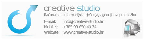 Creative Studio, Računalna i informacijska rješenja, agencija za promidžbu