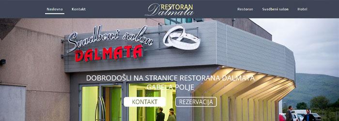 Hotel - Restoran - Svadbeni salon Dalamata, Gabela polje